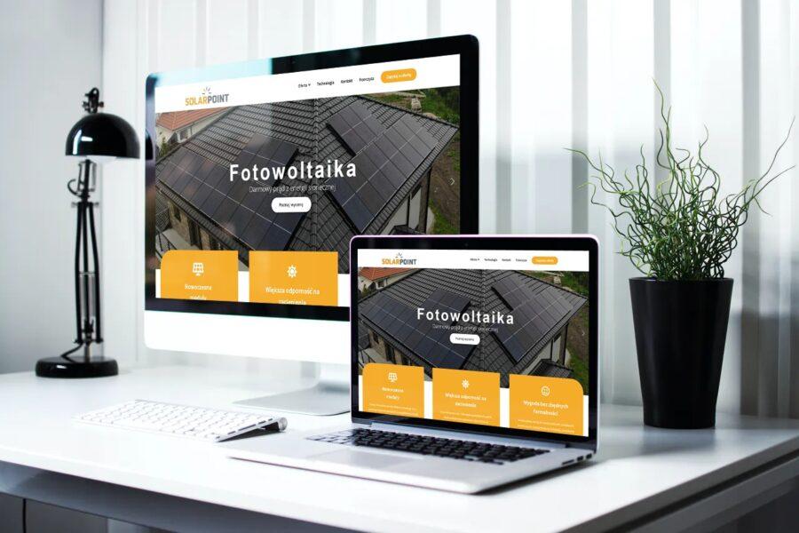 projekt i realizacja strony solarpoint