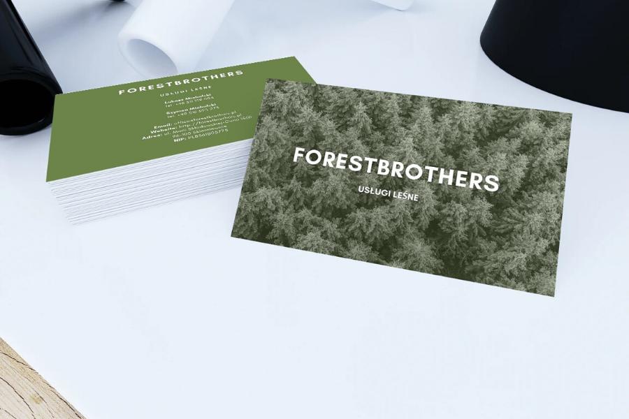 projekt_realizacja_wizytowek_firmowych_forestbrothers